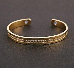41d40b4a7c95c Details about Pure Solid Copper Magnetic Wire Bracelet Bangle Arthritis Men  Women Bio Therapy