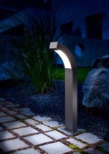 2x-LED-Lampara-de-Jardin-Luz-Camino-Exterior-Soporte-230v-pie-Pasarela