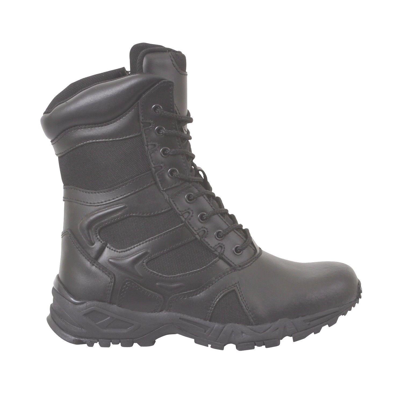 botas de seguridad policial TACTICAL FORCED Entry militar hombre-Damas Ancho 3-13 Reg &