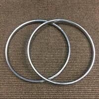Schwinn Black Phantom Whizzer Motor Bike Wheel Set S-2 Rims Rare