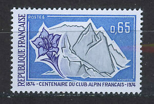FRANCIA-FRANCE-1974-MNH-SC-1398-French-Alpine-Club