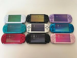 Refurbished-Sony-PSP-3000-Playstation-Portable-Console-Bundle-Choose-YOUR-COLOUR