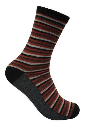 6 Pack Mens Thin Funky Fashion Colourful Breathable Patterned Cotton Dress Socks