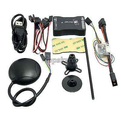 New Mini APM PRO Flight Control w/ Ulbox Neo-6M GPS & Power Module & Data Cable