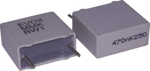 Lot of 2 Evox Rifa MMK Capacitor 0.47uF 250V