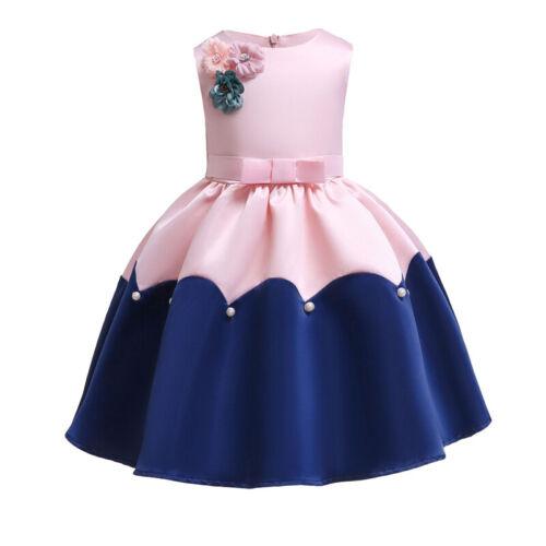 Kinder MädchenKleider Tütü Kommunions Hochzeit Abendkleid FestKleid Ballkleid
