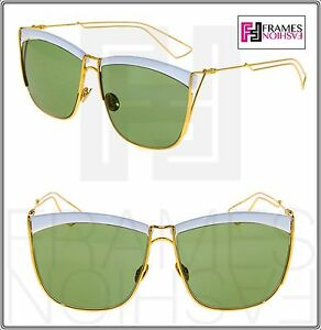 f126ad0252 Image is loading CHRISTIAN-DIOR-SO-ELECTRIC-Gold-White-Metal-Green-