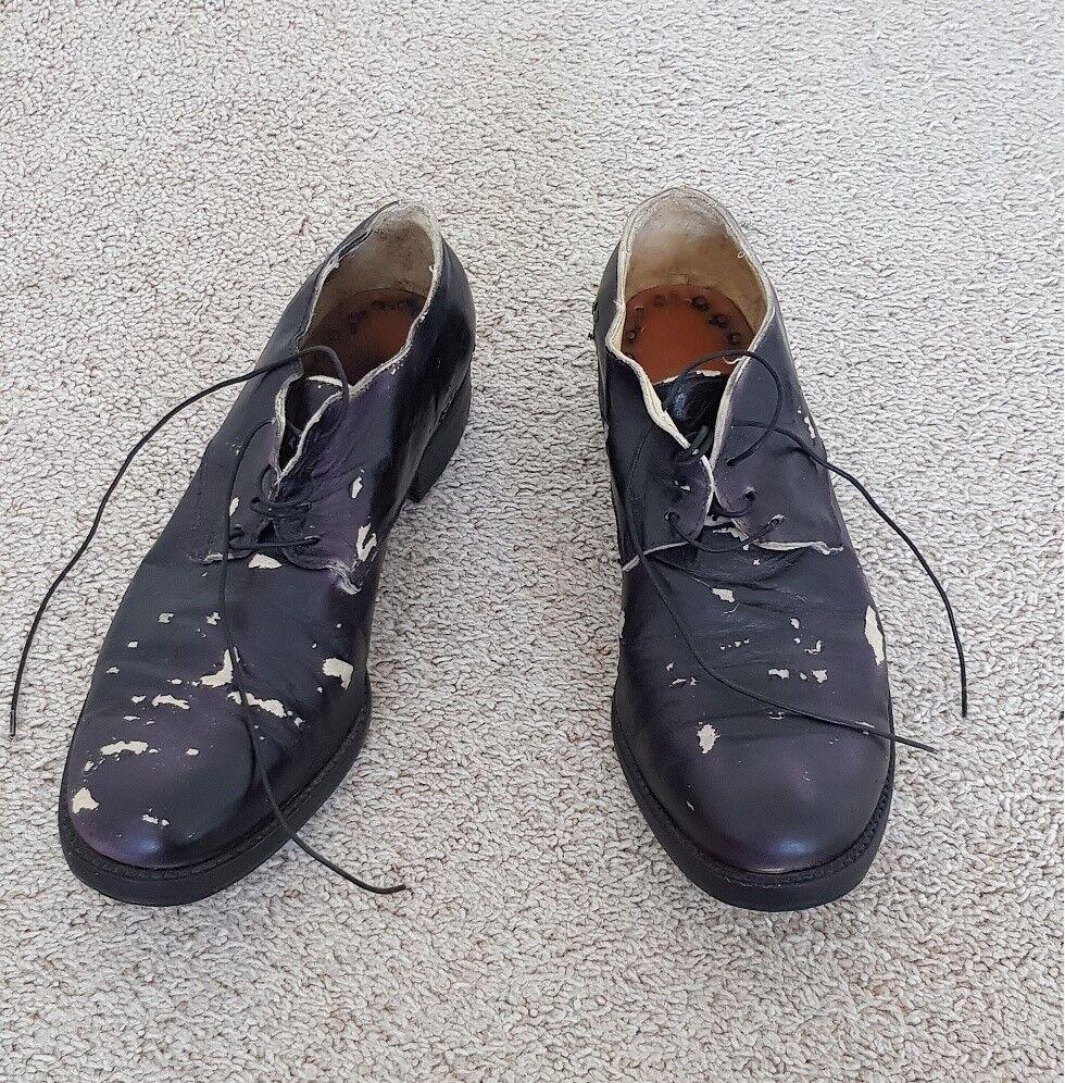 Zapatos de Cuero un diciannoveventitre A1923 Augusta-muy Raro-uno por tamaño hecho