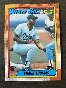 MINT-1990-Topps-Frank-Thomas-ROOKIE-RC-Baseball-Card-414-MT-1-Draft-Pick