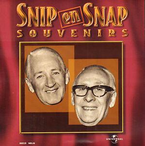 Snip En Snap.Details About Snip En Snap Souvenirs 20 Tracks Cd