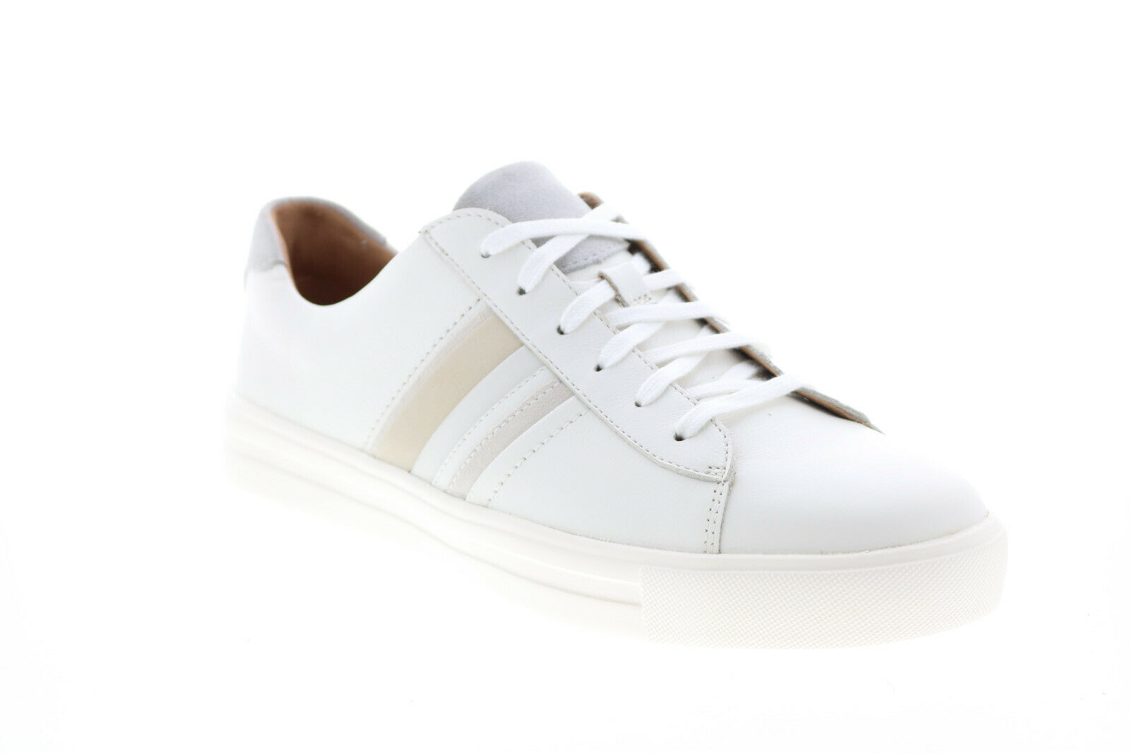 Clarks Un Maui Band Combi 26150538 Womens White Lifestyle Sneakers Shoes