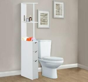 Tall Narrow Bathroom Storage Cupboard