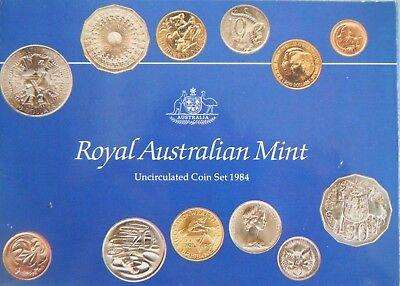 1984 Australia 20 Twenty Cent UNC Uncirculated Coin ex UNC Set