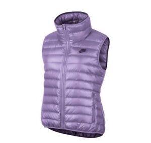 6dea49b7ed8a Nike Women´s NSW 550 Down Filled Vest Body Warmer Casual Gilet Size ...