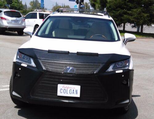 Colgan Front End Mask Bra 2pc Fits 2016-2017 Lexus RX350 /& RX450H W//Lic.Plate