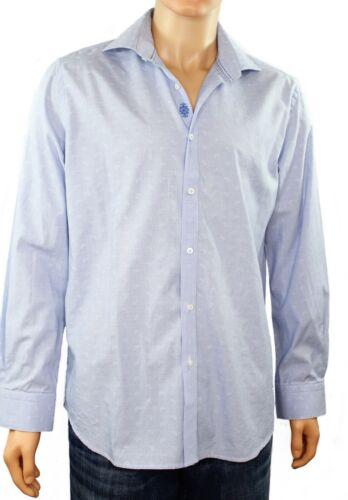 Robert Graham Mens Size 41-16 Long Sleeve Button U