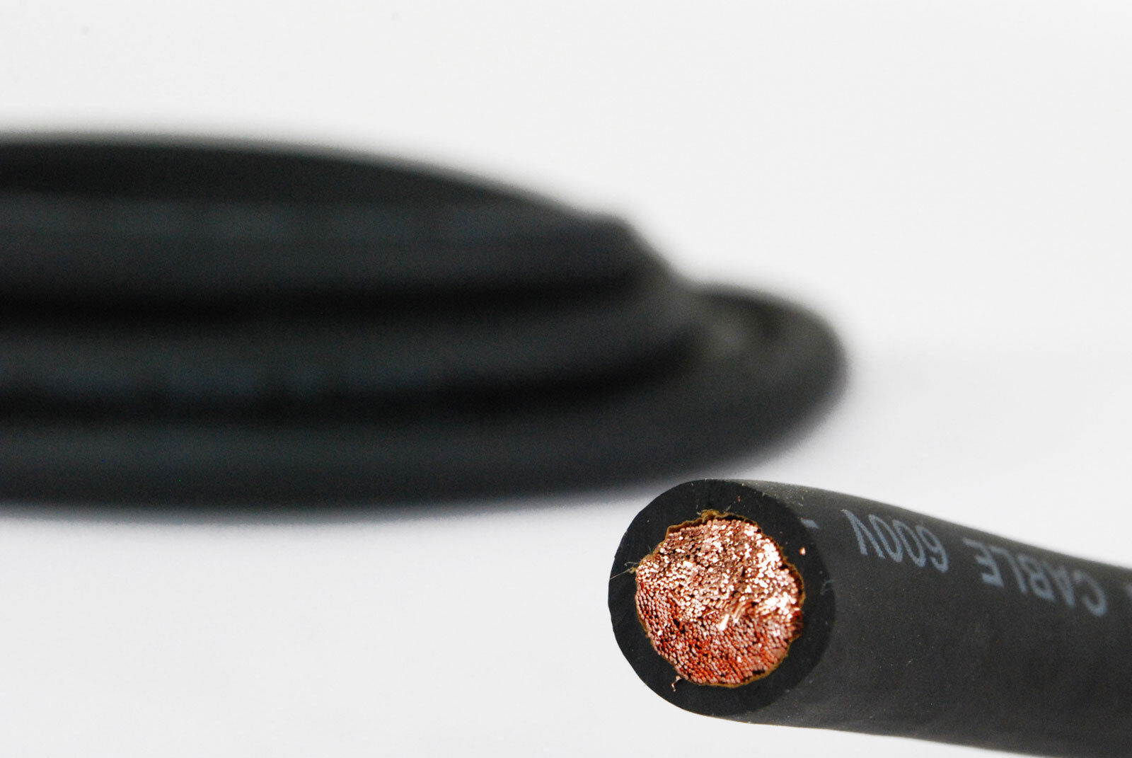 TEMCo WC0099-15 ft 2 Gauge AWG Welding Lead /& Car Battery Cable Copper Wire BLACK MADE IN USA