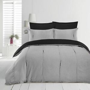 Luxury-Embellished-Duvet-Cover-Set-Single-Double-Super-King-Size-Bedding-Grey