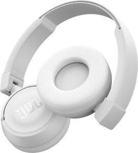 56f70c18c8b JBL Harman T450BT On-Ear Lightweight Foldable Bluetooth Headphones ...