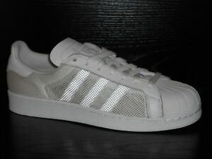 Details about adidas Superstar Triple Mens Trainer Shoe UK Size 8 White RRP £67