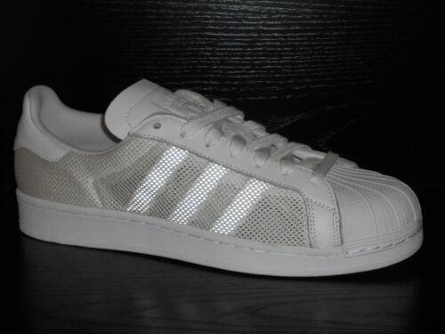 Triplo Uomo Scarpe 8 Taglia Uk Adidas Ginnastica Da Superstar Bianco gw5xZnqF4