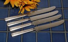 4 International Silverplate R C Co CHATHAM Solid Handle Knives 1923 FREE SHIP