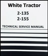 2 135 White Tractor Technical Service Shop Repair Manual On Cd Diesel 2 135