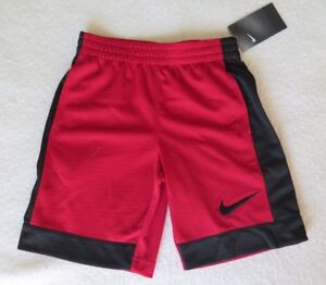 1dbe52b06d5b5 Details about Nike Little Boys Assist Red Shorts - Size 7 - NWT - MSRP$24.00