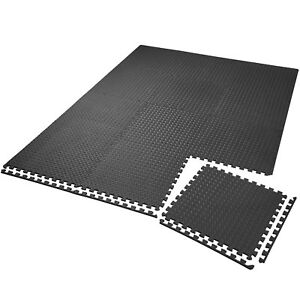 12x Tapis Mousse De Sol Ensemble Tapis Puzzle Fitness Protection Gym