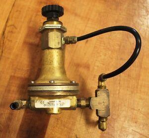 ITT Conoflow GH20VTP030 Brass Pneumatic Air Regulator GH20VT - USED