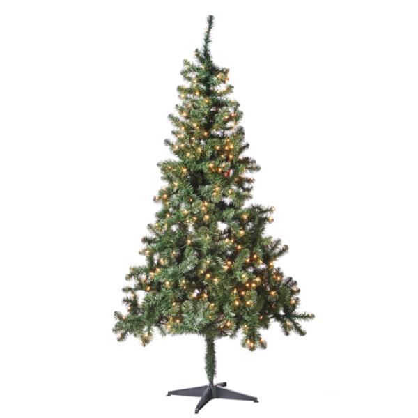 Madison Pine Christmas Tree: Holiday Time Madison Pine Pre Lighted Christmas Tree 6.5