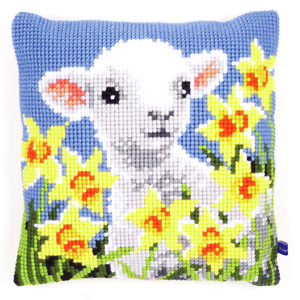 Vervaco Cross Stitch Cushion Front Kit PN-0154282 Goat