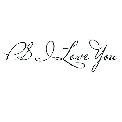 DCW I Love You Vinyl Wall Quotes Stickers Home DIY Art Bedroom Decals HG-0673