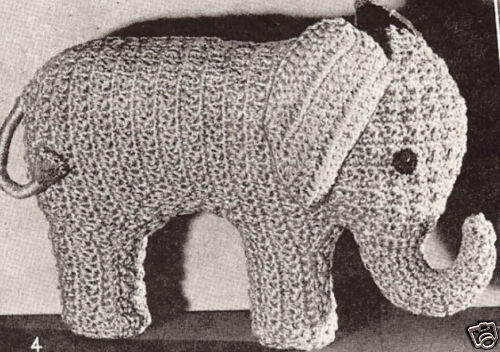 Crochet Tutorial Elephant - YouTube   352x500