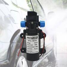12V 160Psi High Pressure Diaphragm Self Priming Water Pump 8Lpm 100W for Wash UK