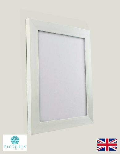 """cm Cadre Tailles White Photo Poster Panoramique cadres 13x13/""""-24x36/"""" A1 A2"""