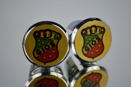new Gios Handlebar End Plugs Bar Caps vintage guidon bouchons calotte tappo