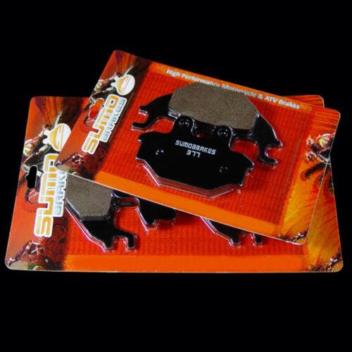 12-13 300 05-14 500 KYMCO Front+Rear Brake Pads MXU250R 05-09 UXV 500 08-14