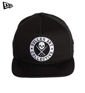 Sullen Clothing New Era Staple Badge Logo Tattoos Art Snapback Cap ... 244e5c11aacf