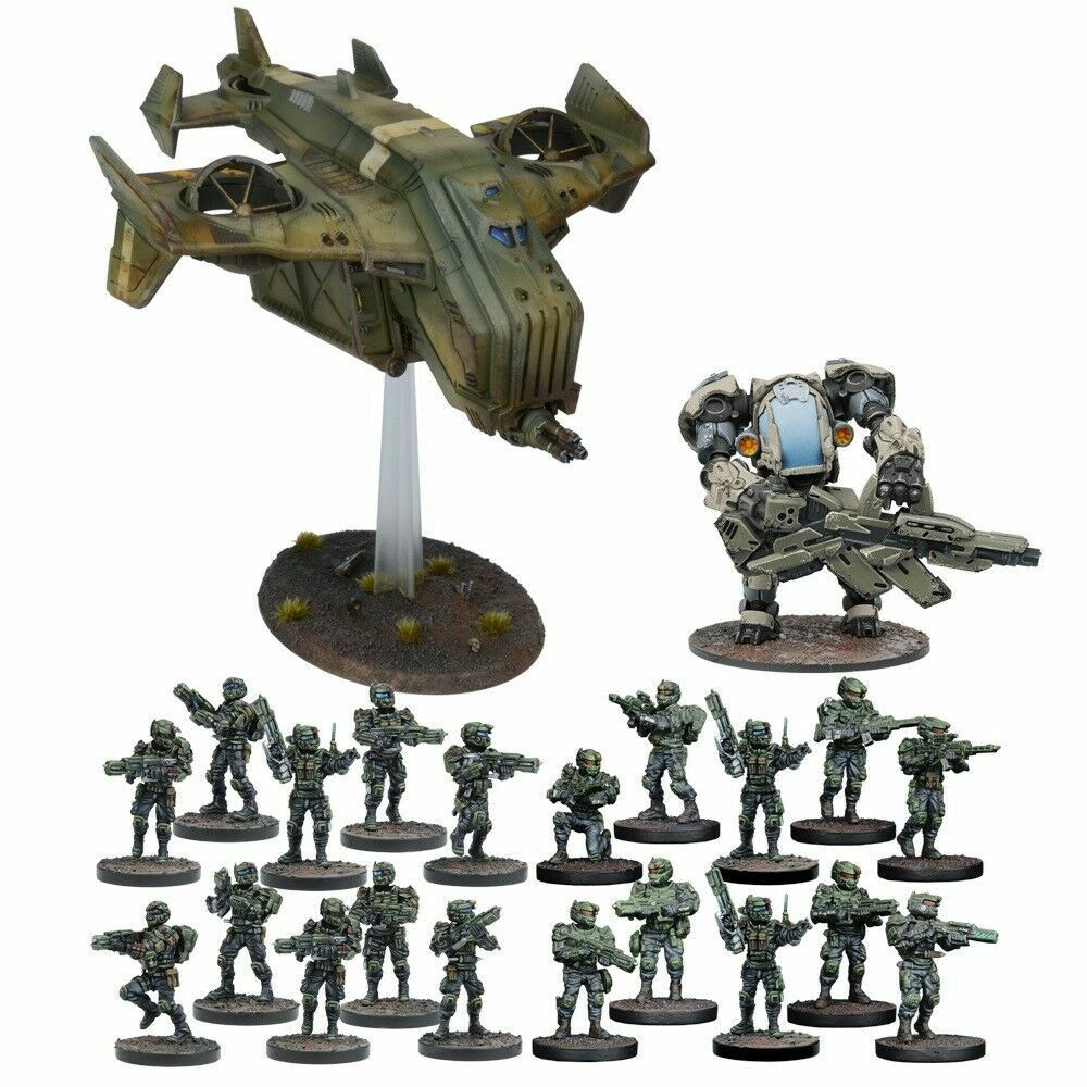 Mantic Warpath MGGGGG102 Gcps Reserv Force 28mm Imperial Guard