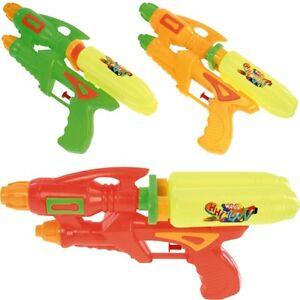 """2x Wasserpistole Wasser-Pistole Spritzpistole Kanone """"Future"""" 27 cm Doppeltank"""