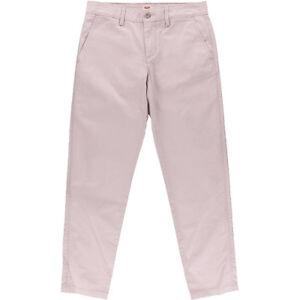 NEW-Womens-Levi-039-s-Lazy-Lilac-Haze-Flat-Front-Solid-Khakis-Chino-Pants-AU-W29-L28