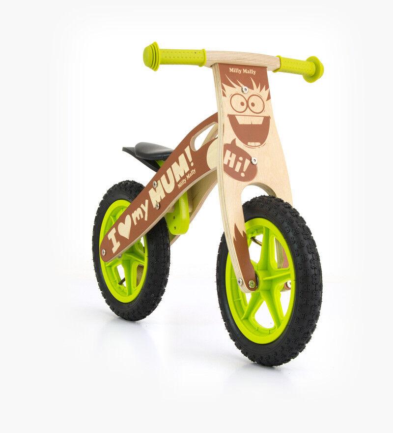 Kinder Laufrad Holz BOY Lauflernrad Lernlaufrad Lernrad Kinderlaufrad Fahrzeug
