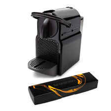Nespresso Inissia Espresso Maker Machine and Coffee Capsules Pods Bundle