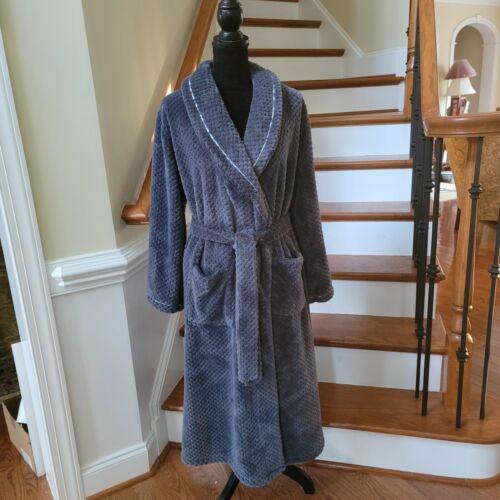 Eileen West Gray Bath Robe Size Small Medium