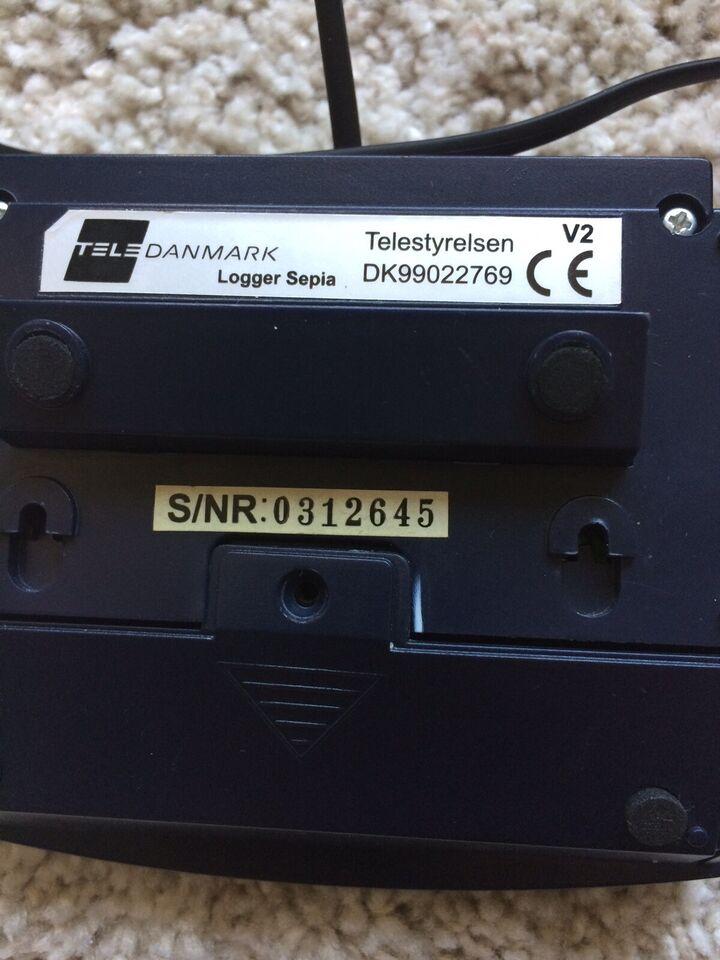 Nummerviser, TeleDanmark, Logger Sepia