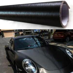 Brushed-Aluminum-Vinyl-Film-Metallic-Wrap-Sticker-Decal-Bubble-Free-Air-Release