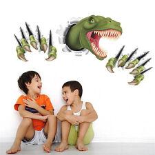 Wandtattoo Kinderzimmer 3D Dinosaurier Tier Dino Zoo Wandsticker T-Rex Aufkleber