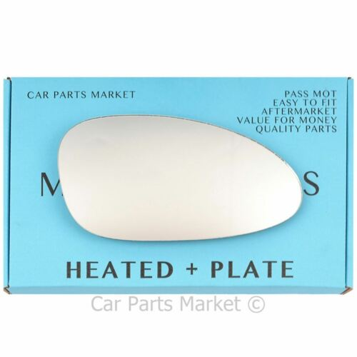 Right side Wing mirror glass for Porsche 968 92-95 heated plate