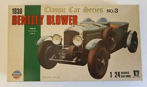 UNION BENTLY BLOWER - CLASSIC CAR SERIES-  1930  No. 3  1/24 MODEL KIT